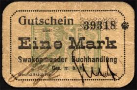 R.956c: Swakopmunder Buchhandlung 1 Mark (1916) (3)