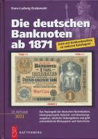 """""""Rosenberg-Katalog"""" Die deutschen Banknoten ab 1871 22. Auflage 2020/21"""