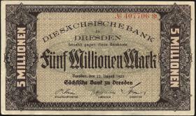 R-SAX 17: 5 Mio. Mark 1923 (2)