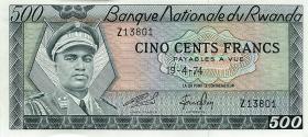 Ruanda / Rwanda P.11 500 Francs 1974 (1)