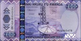 Ruanda / Rwanda P.36 2000 Francs 2007 (1)