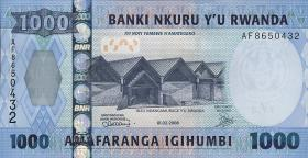 Ruanda / Rwanda P.35 1000 Francs 2008 (1)