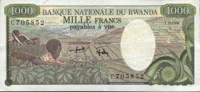 Ruanda / Rwanda P.14 1000 Francs 1978 (1)