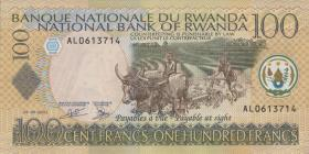 Ruanda / Rwanda P.29b 100 Francs 2003 (1)