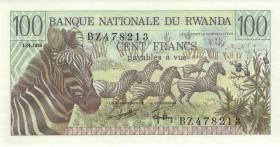 Ruanda / Rwanda P.12 100 Francs 1978 (1)