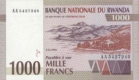 Ruanda / Rwanda P.24 1000 Francs 1994 (1)