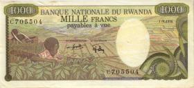 Ruanda / Rwanda P.14 1.000 Francs 1978 (2)
