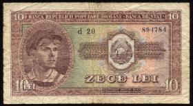 Rumänien / Romania P.088b 10 Lei 1952 (4)