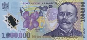 Rumänien / Romania P.116 1.000.000 Lei 2003 Polymer (1)
