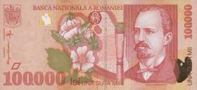 Rumänien / Romania P.110 100.000 Lei 1998 (1)