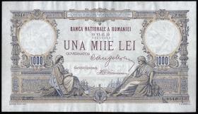 Rumänien / Romania P.034 1000 Lei 1933 (2)