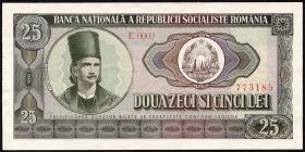 Rumänien / Romania P.095 25 Lei 1966 (2)