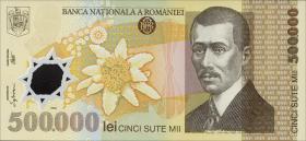 Rumänien / Romania P.115 500.000 Lei 2000 Polymer (1)