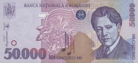 Rumänien / Romania P.109 50000 Lei 1996 (1)