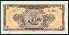 Rumänien / Romania P.081b 1 Lei 1952 (2)