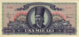 Rumänien / Romania P.085 1000 Lei 1948 (1/1-)