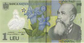 Rumänien / Romania P.117a 1 Leu (20)05 Polymer (1)