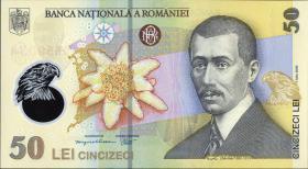 Rumänien / Romania P.120g 50 Lei (20)17 Polymer (1)