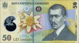Rumänien / Romania P.neu 50 Lei (20)18 Polymer (1)