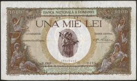 Rumänien / Romania P.047 1000 Lei 28.4.1939 (4)