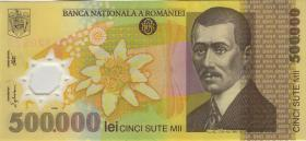 Rumänien / Romania P.115a 500.000 Lei 2000 Polymer (1-)