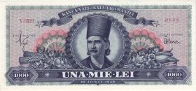 Rumänien / Romania P.085 1000 Lei 1948 (1)