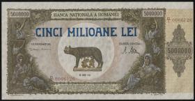 Rumänien / Romania P.061a 5.000.000 Lei 1947 (1)