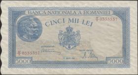 Rumänien / Romania P.056 5000 Lei 1944 (2)