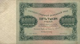 Russland / Russia P.171 5000 Rubel 1923 (3+)