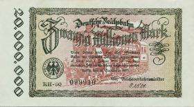 RVM-05c Reichsbahn Berlin 20 Millionen Mark 1923 RH (1)