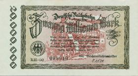 RVM-05c Reichsbahn Berlin 20 Millionen Mark 1923 (1)