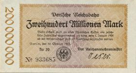 RVM-08 Reichsbahn Berlin 200 Millionen Mark 1923 (1)