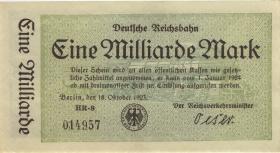 RVM-10b Reichsbahn Berlin 1 Milliarde Mark 1923 (1)