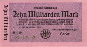 RVM-11 Reichsbahn Berlin 10 Milliarden Mark 1923 (1)