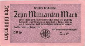 RVM-11i Reichsbahn Berlin 10 Milliarden Mark 1923 (1)