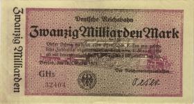 RVM-12 Reichsbahn Berlin 20 Milliarden Mark 1923 (3)