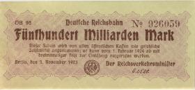 RVM-18c Reichsbahn Berlin 500 Milliarden Mark 1924 (1)