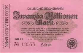 RVM-19g Reichsbahn Berlin 20 Billionen Mark 1923 (1)