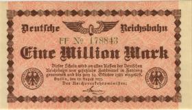 RVM-01b Reichsbahn Berlin 1 Million Mark 1923 (1)