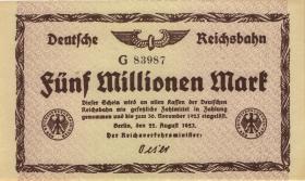 RVM-03a Reichsbahn Berlin 5 Millionen Mark 1923 (1)