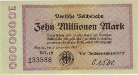 RVM-04 Reichsbahn Berlin 10 Millionen Mark 1923 (1)