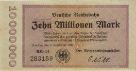 RVM-04 Reichsbahn Berlin 10 Millionen Mark 1923 (2)