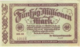 RVM-06 Reichsbahn Berlin 50 Millionen Mark 1923 (1-)