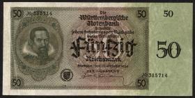 R-WTB 27b: 50 Reichsmark 1925 (2-)