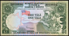 West Samoa P.19 1 Tala (1980) (1)