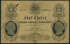 A-397 Sachsen 5 Thaler 1867 (5)