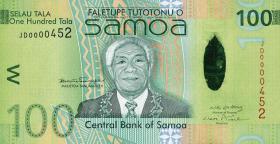 Samoa P.42 100 Tala (2008) (1)