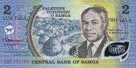 Samoa P.31e 2 Tala (1990) Polymer (1)