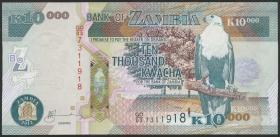 Sambia / Zambia P.46h 10000 Kwacha 2012 (1)