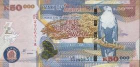 Sambia / Zambia P.48e  50000 Kwacha 2009 (1)
